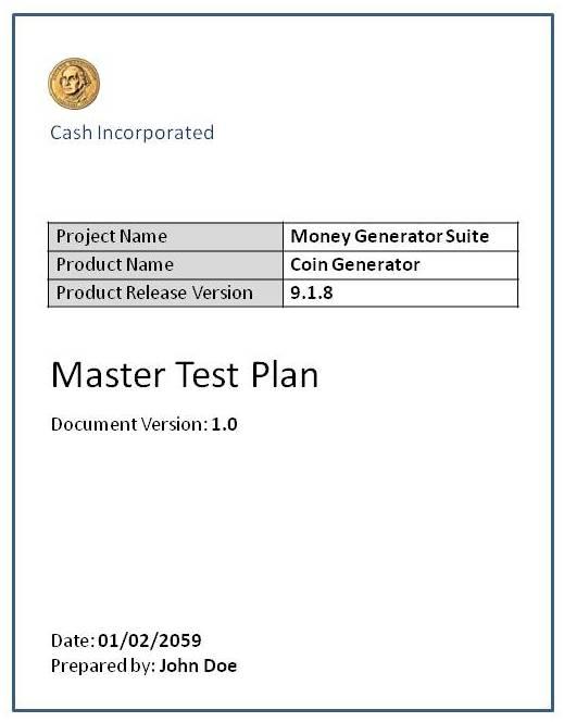 Test Plan Software Testing Fundamentals